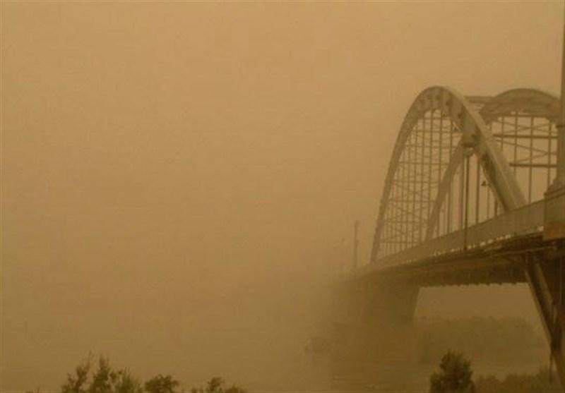 غبارآلود شدن هوای خوزستان